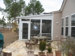 Porch addition with EZB 5
