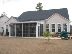 Porch addition with EZB 6